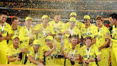 विश्व कप 2015 : ऑस्ट्रेलिया पांचवीं बार वर्ल्ड चैंपियन