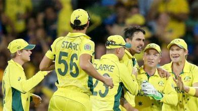 विश्व कप 2015 : भारत-ऑस्ट्रेलिया सेमीफाइनल मैच : भारत की 95 रनों से हार