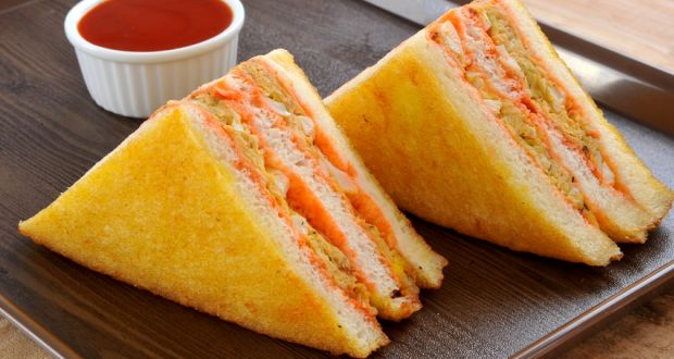 How to make sandwich at home in hindi