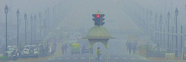 delhi, heavy fog ന്യൂഡൽഹി, മൂടല് മഞ്ഞ്