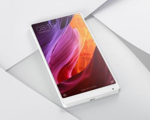 xiaomi mi mix, smartphone, xiaomi ഷവോമി മീ മാക്സ്, സ്മാര്ട്ട്ഫോണ്, ഷവോമി, വൈറ്റ് വേരിയന്റ്