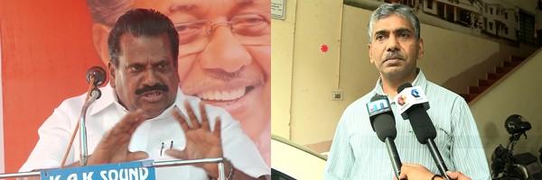 Jacob Thomas, EP Jayarajan, ബന്ധു നിയമനം, Nepotism, ജേക്കബ് തോമസ്, ഇ.പി ജയരാജന്, പിണറായി വിജയന്
