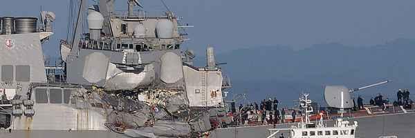 US Navy, Japan, യുദ്ധക്കപ്പല്, യു എസ്, അപകടം