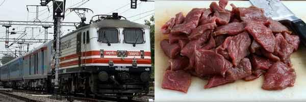 Cow Politics, Train Passenger Stabbed, ബീഫ്, ബീഫ് രാഷ്ട്രീയം, ട്രെയിന്, കൊലപാതകം