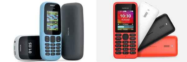 nokia,  feature phone,  mobile,  news,  technology, new nokia 105, new nokia 130,  നോക്കിയ,  ഫീച്ചര് ഫോണ്,  മൊബൈല്,  ന്യൂസ്,  ടെക്നോളജി, നോക്കിയ 130, നോക്കിയ 105