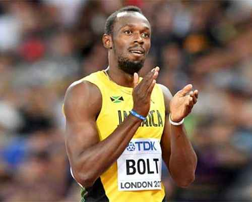 Usain Bolt , Julian Forte , World Athletics Championships , ഉസൈൻ ബോൾട്ട്  , മോ ഫറ ,  ലോക അത്ലറ്റിക് ചാംപ്യന്ഷിപ്പ് , ജൂലിയൻ ഫോർട്ടെ