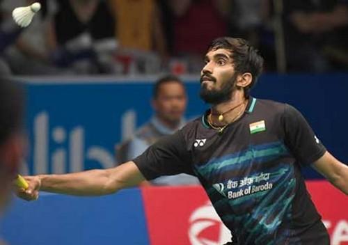world badminton championship , k SReekanth , badminton championship , കെ ശ്രീകാന്ത് , ബാഡ്മിന്റണ് , ലോക ബാഡ്മിന്റണ് ചാമ്പ്യന്ഷിപ്പ്