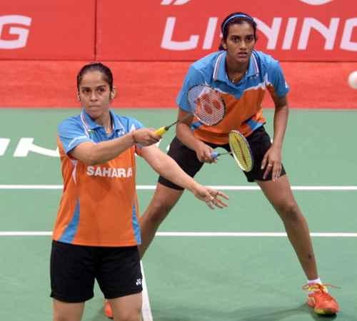 World Badminton Championship ,  PV Sindhu ,  Saina Nehwal ,  ലോക ബാഡ്മിന്റണ് ചാമ്പ്യന്ഷിപ്പ് ,  പി.വി സിന്ധു ,  സൈന നേഹ്വാള്