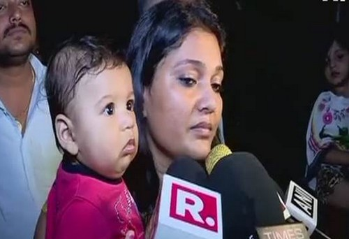 Mumbai Traffic , Police , car , breastfeeding her child , police , യുവതി , ട്രാഫിക്ക് പൊലീസ് , കോണ്സ്റ്റബിൾ , ശശാങ്ക് റാണ , കുഞ്ഞിനെ മുലയൂട്ടവെ , വാഹനം കെട്ടിവലിച്ചു