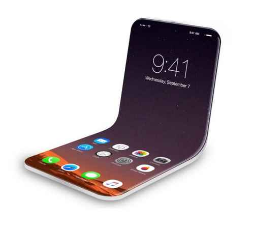 Apple ,  iPhone ,  folding iPhone , ആപ്പിള് , ഐഫോണ് , ഫോള്ഡബിള് ഡിസ്പ്ലേ , എല്ജി , സാംസങ്ങ്