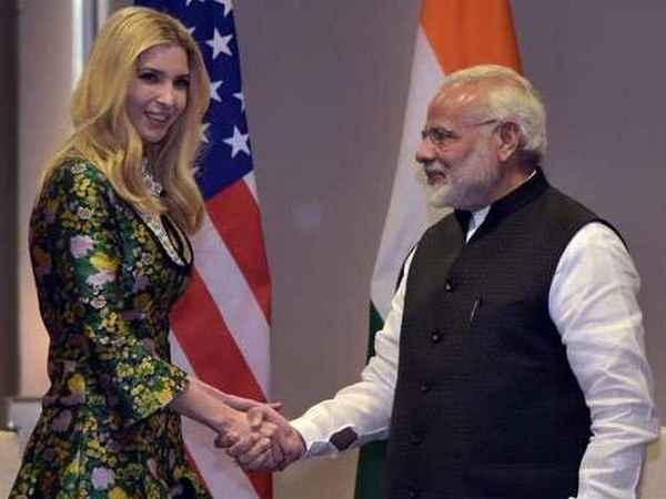 Ivanka Trump ,  US President  , Donald Trump , Narendra Modi , ഇവാന്ക ട്രംപ് , നരേന്ദ്ര മോദി , ഡൊണാള്ഡ് ട്രംപ്