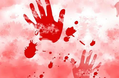 Murder , police , case , blood , ശിവൻ, വത്സ, മകൾ സ്മിത , വെട്ടിക്കൊലപ്പെടുത്തി , ബാബു , ആശുപത്രി