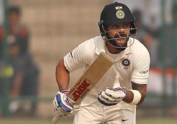 Virat kohli , India Sree lanka test , team idia , cricket , അന്തരീക്ഷ മലിനീകരണം , കോഹ്ലി , ശ്രീലങ്ക , കോഹ്ലി , സെവാഗ്