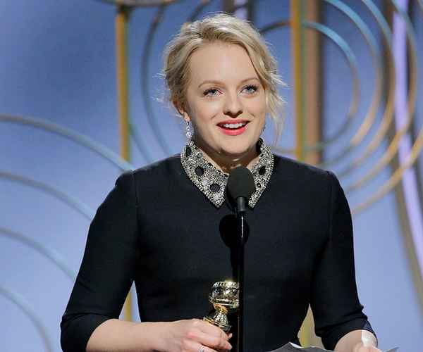 Golden Globe Award Winners 2018 , Golden Globe Award , Golden Globe , Elisabeth Moss , ഗോള്ഡന് ഗ്ലോബ് പുരസ്കാരം , ഗോള്ഡന് ഗ്ലോബ് , എലിസബത്ത് മോസ് , സ്റ്റെർലിങ് കെ. ബ്രൗൺ