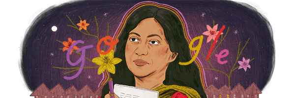 Google Doodle , Kamala Das , Madhavikkutty , Kamala Surayya , ഗൂഗിൾ ഡൂഡിൽ , മാധവികുട്ടി , കമലാ സുരയ്യ