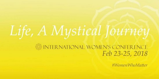 Life: A Mystical Journey, Women Leaders, Spirituality, ജീവിതം: നിഗൂഢമായ ഒരു യാത്ര, ഐ ഡബ്ല്യു സി, റാണി മുഖര്ജി