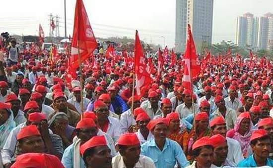 ബി ജെ പി, കര്ഷക മാര്ച്ച്, ലോംഗ് മാര്ച്ച്, ഫഡ്നാവിസ്, മഹാരാഷ്ട്ര, ജയരാജന്, BJP, Farmers March, Long March, E P Jayarajan