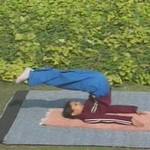 yoga sarvangasan