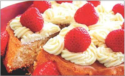 fruti rice cake