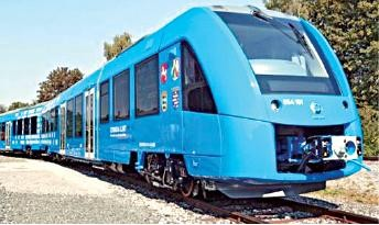 hydrogen railway