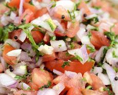 onion tomto koshimbir