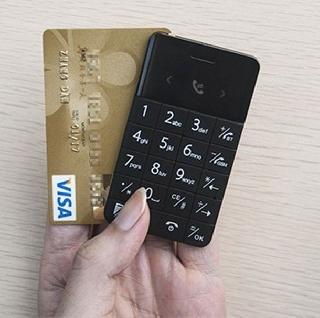 Credit card size world smallest mobile