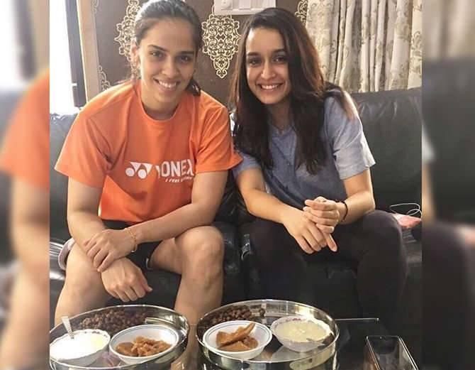 shradha and saina