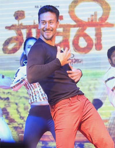 tiger dancing