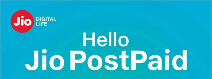 Jio PostPaid