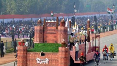 Republic Day 2021: राजपथ येथे झाक्यांचे पूर्ण ड्रेस रिहर्सल करण्यात आले