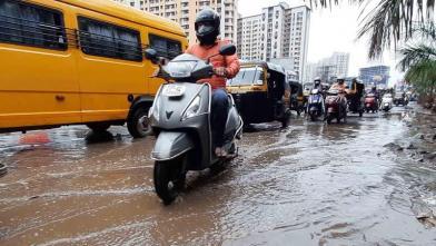 मुंबईत - अवेळी पाऊस