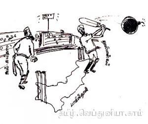 கிரிக்கெட் வீரர்கள் மீது தாக்குதல்