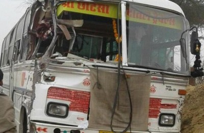 bus accident in up