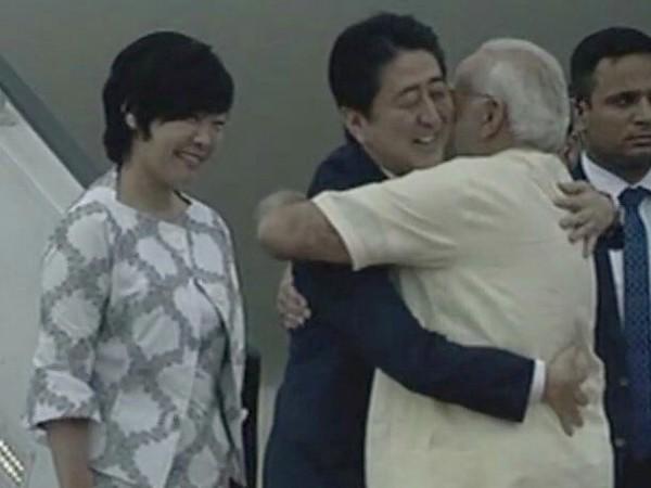 apanese PM Shinzo Abe-Modi