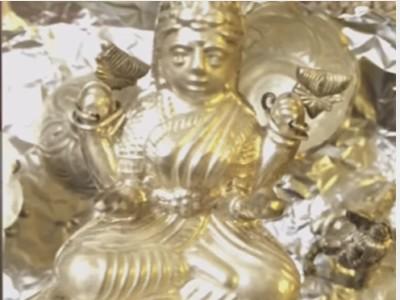 silver lakshmi