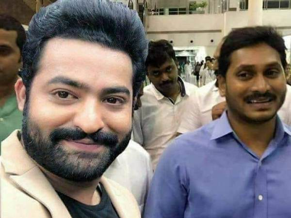 Image result for ntr and jagan