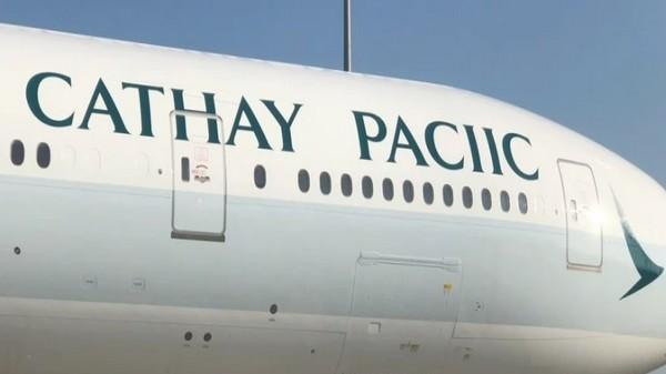 cathay pacific aeroplane