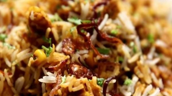 sweet corn pulao
