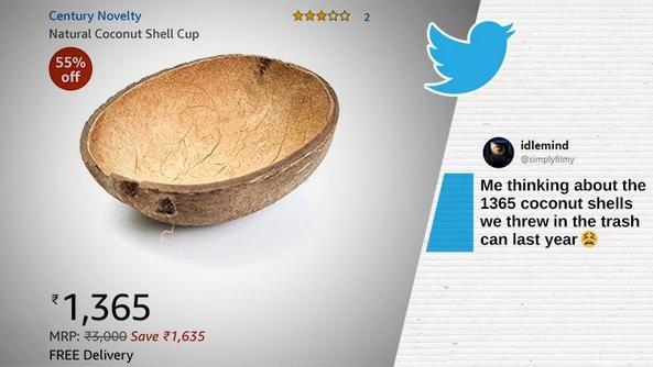 Amezon coconut shell