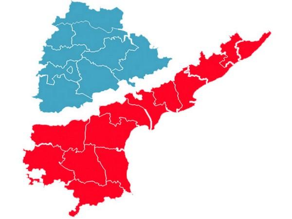 andhra-telangana map