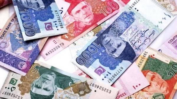 Pak Currency notes