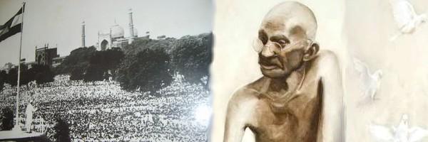 Independence day, Gandhiji