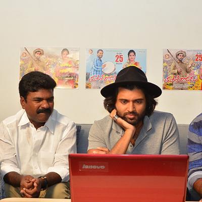 Vijay Devarakonda Launched Bithiri Sathi Tupaki Ramudu Teaser